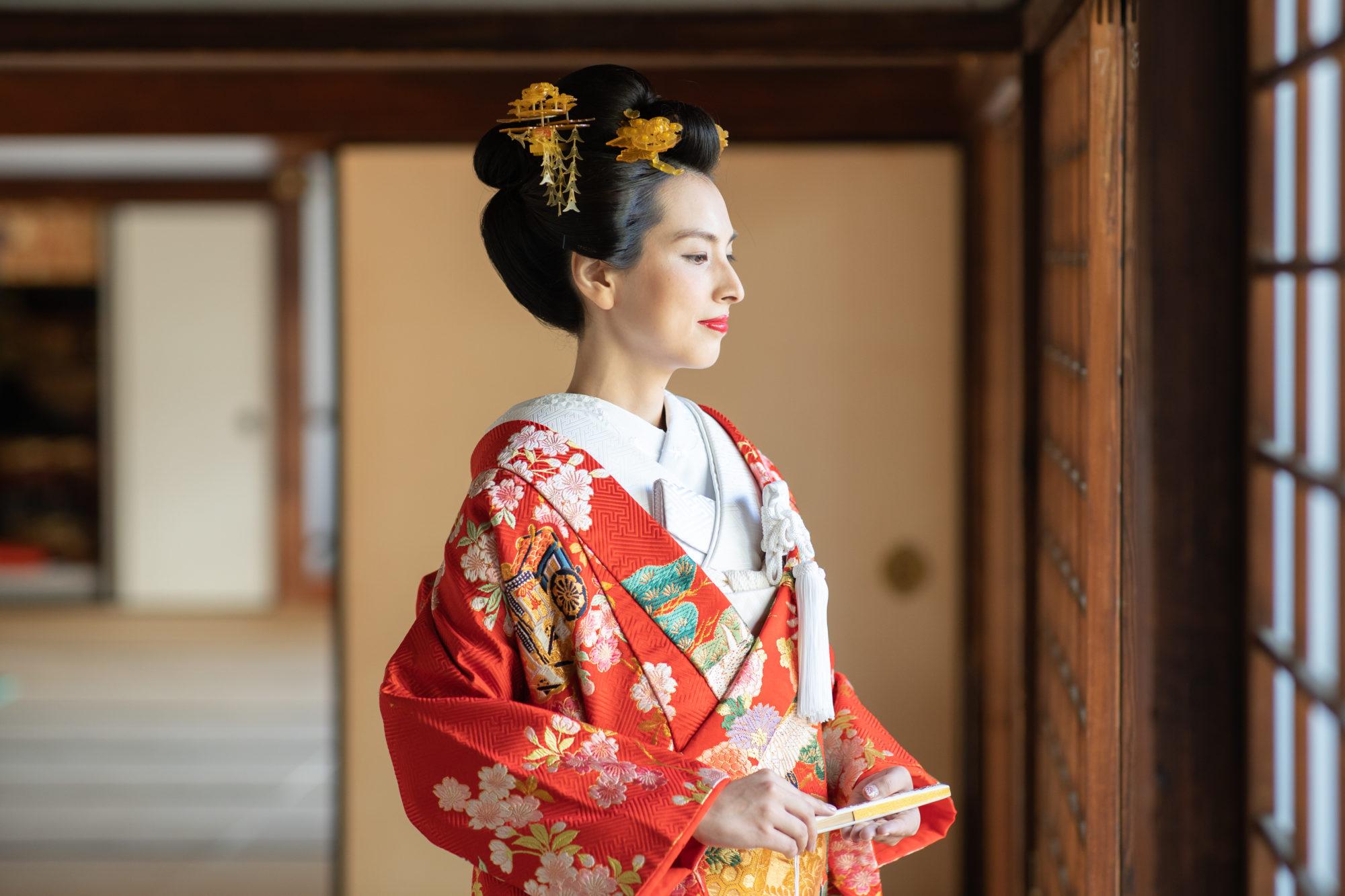 新日本髪の和装お写真