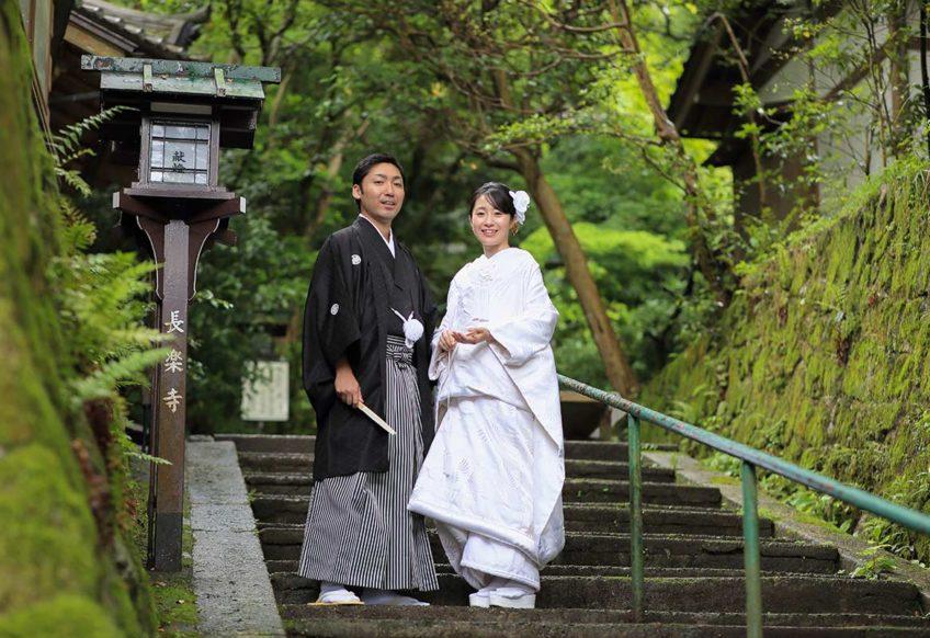 京都長楽寺での和装前撮りプラン