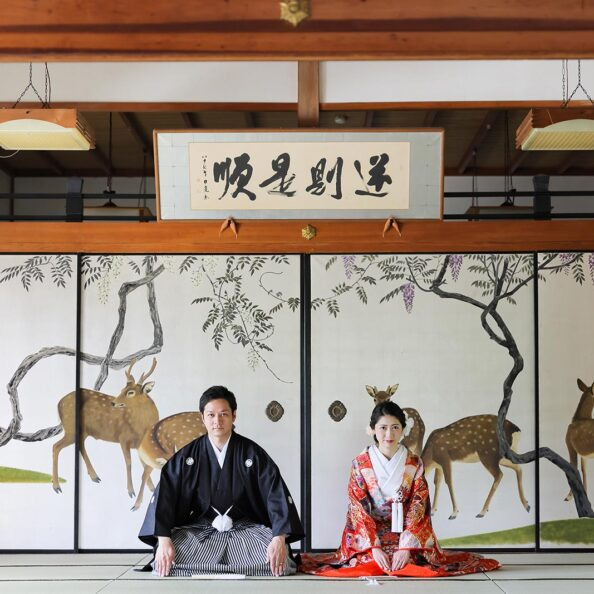 京都妙蓮寺での和装前撮りプラン