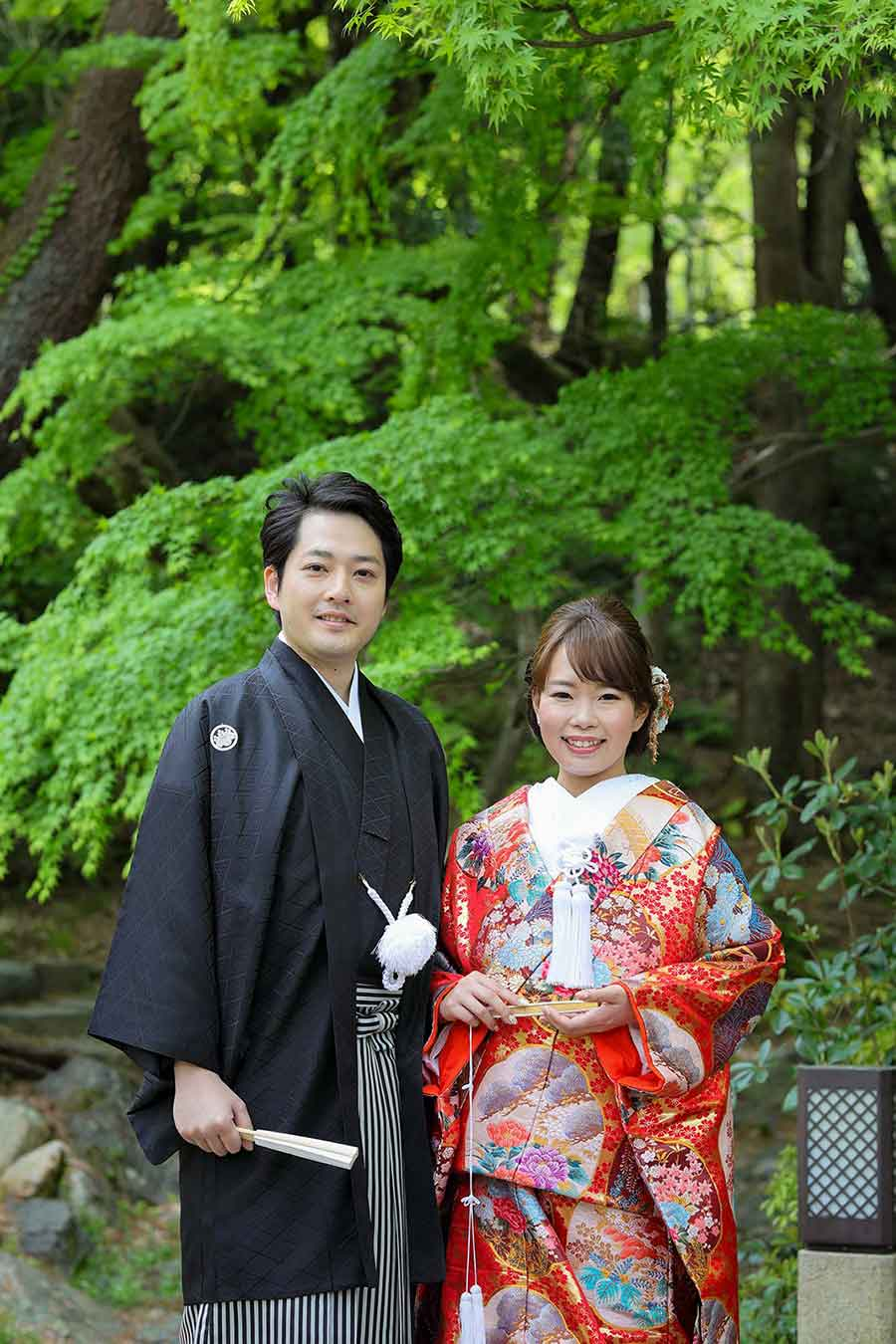 円山公園でのロケーション写真