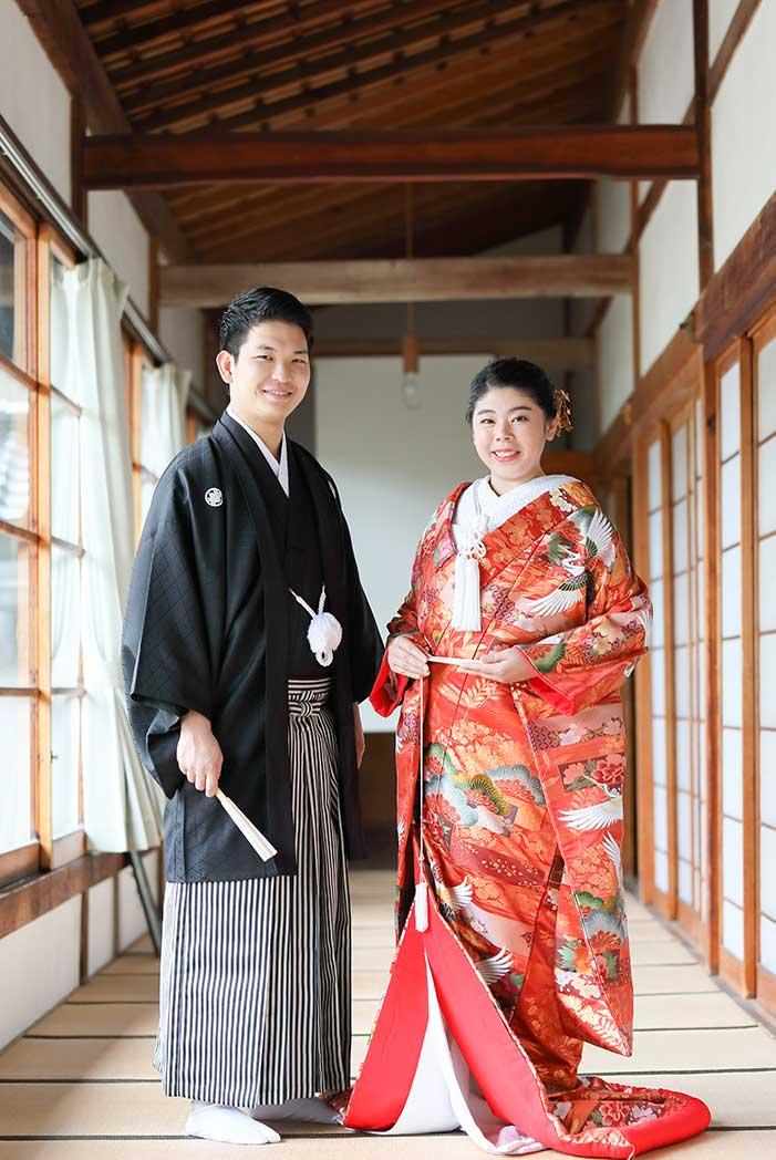 京都前撮りブログ若いご夫婦様画像