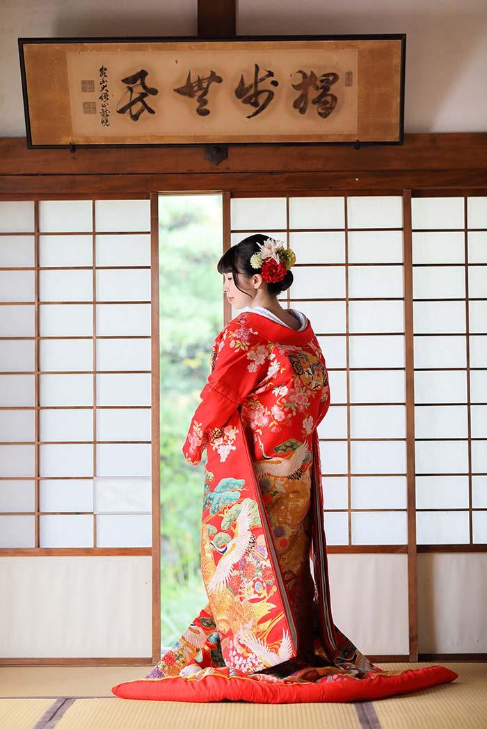 京都で後撮りの花嫁様