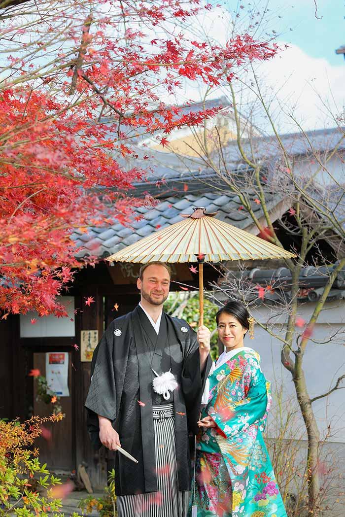 イギリスと日本の国際結婚のカップル様