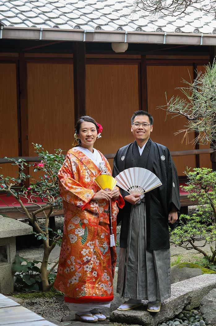 アメリカと日本の国際結婚のカップル様
