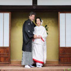 日本とオランダの国際結婚のカップル様