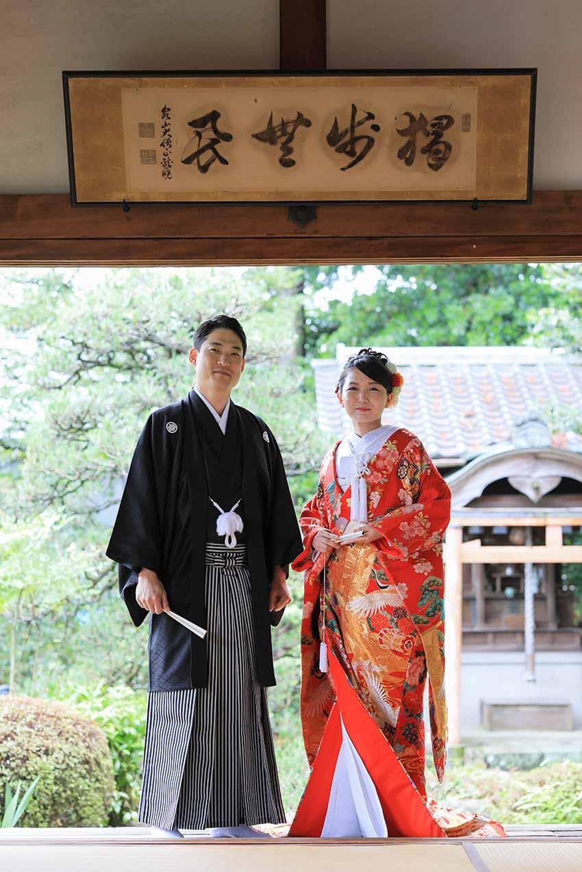 日本と韓国の国際結婚のカップル様