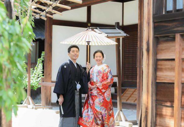 京都で前撮り、沖縄県からのお客様