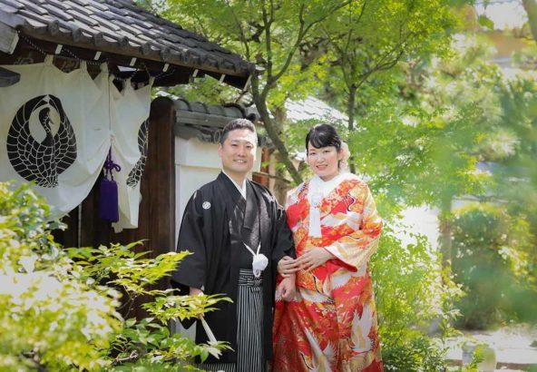 結婚2年目での撮影