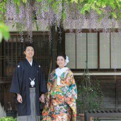 夏の京都で前撮り