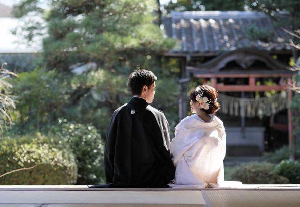 京都戒光寺での和装前撮りプラン
