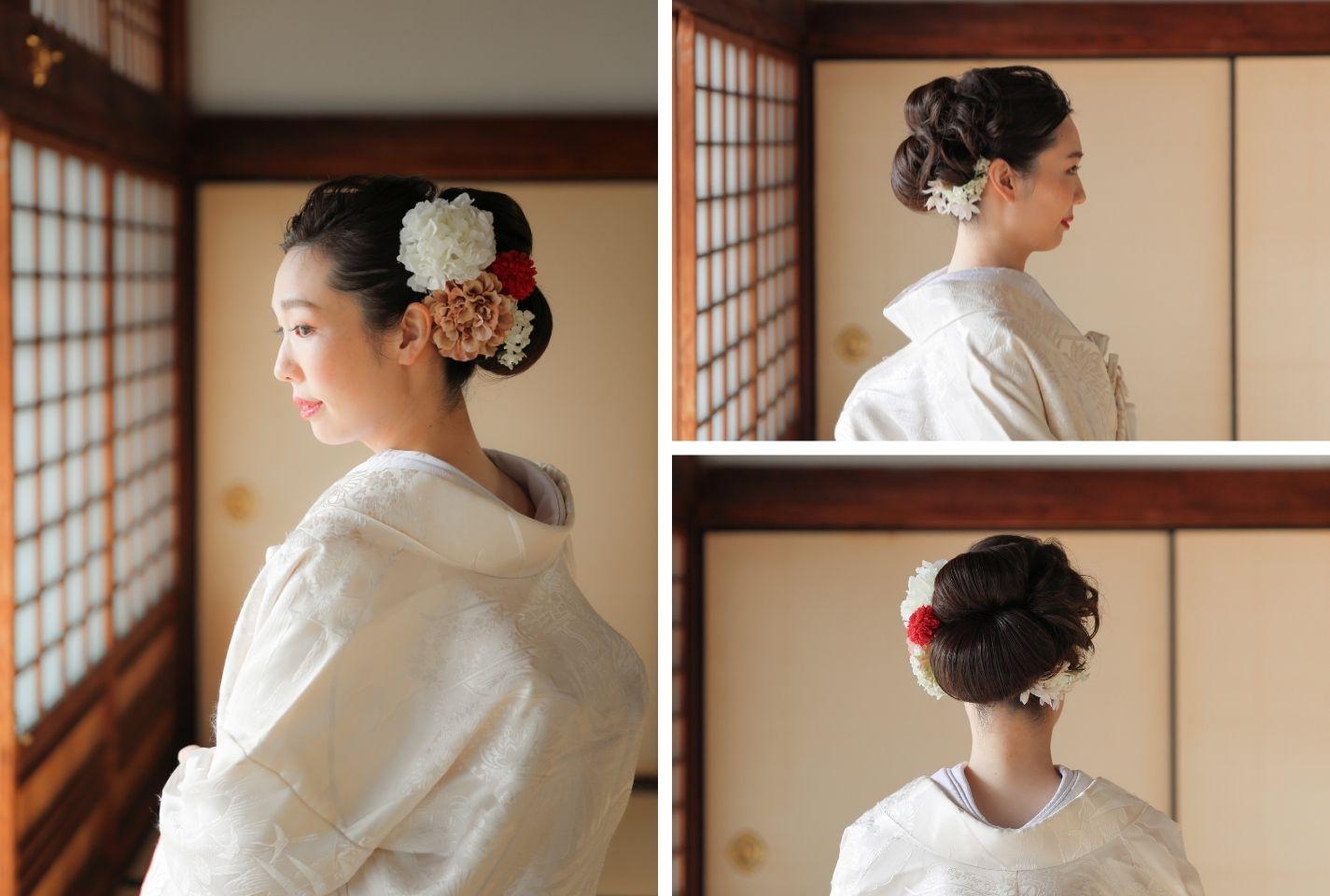 オリジナルスタイルの花嫁様のウェディングヘア