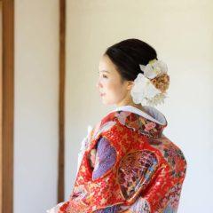 和室にて(季節:秋)