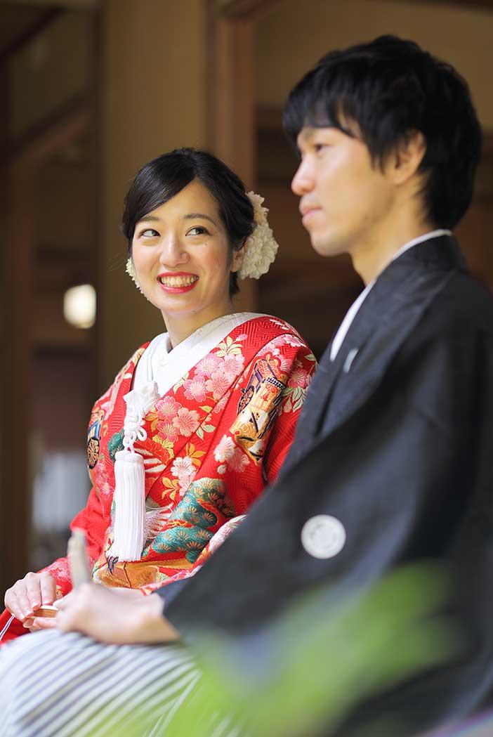 長楽寺様での前撮り撮影