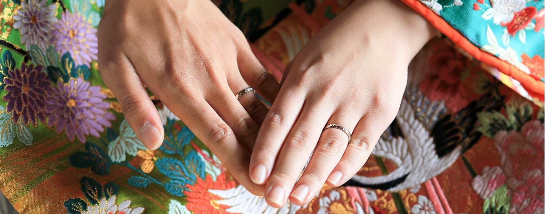 結婚指輪のイメージカット