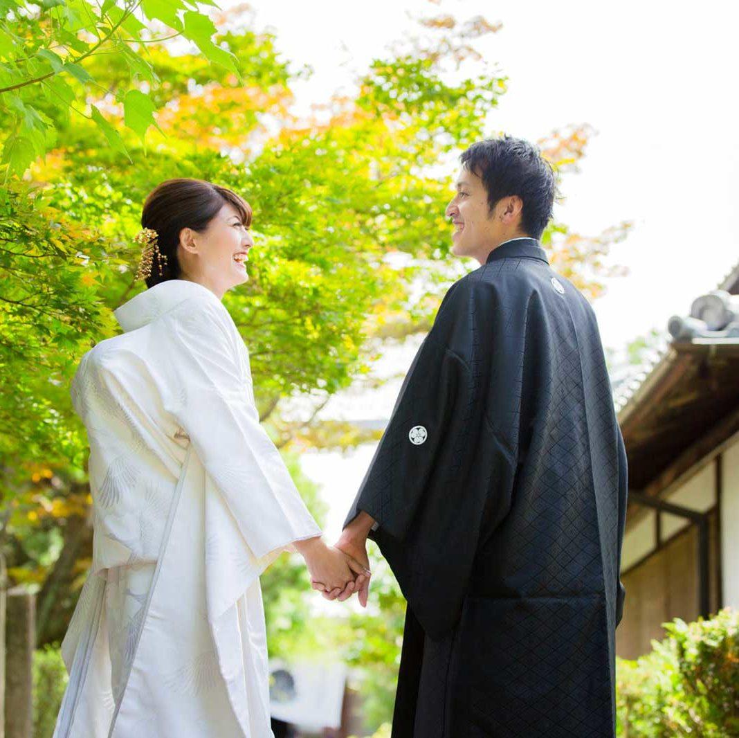 遠方からも京都で前撮りOK