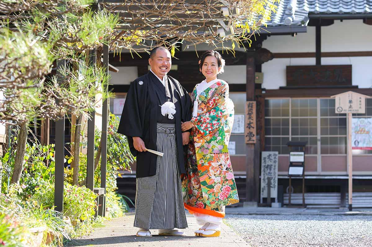 遠方(オーストラリア)から京都へ前撮りに