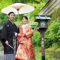 雨の日の京都で前撮り・フォトウェディング解説
