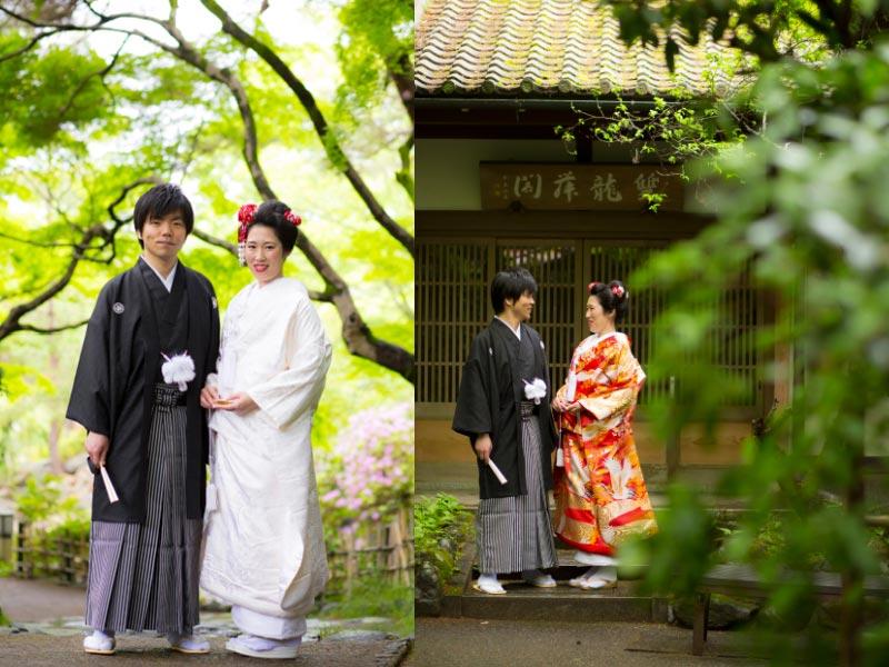 京都で和装前撮り2着プランについて