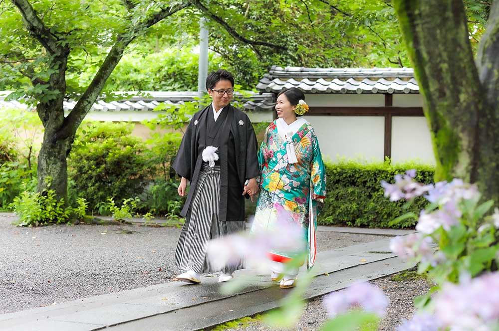 「晴れ女の花嫁様」ブログ画像