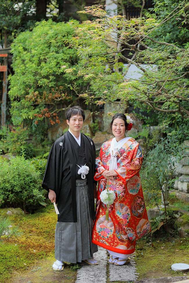 新婚旅行で京都へblog画像