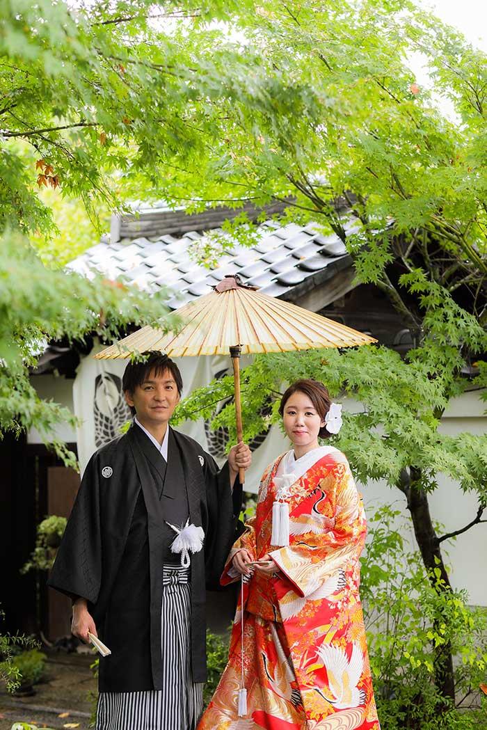 結婚2年目で和装写真をblog画像