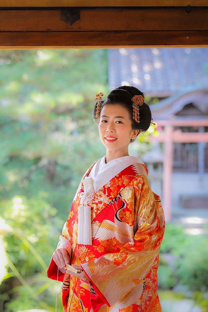 新日本髪の美しい花嫁様