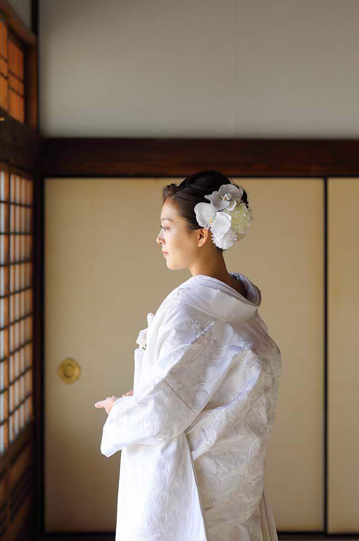 白無垢姿の花嫁様