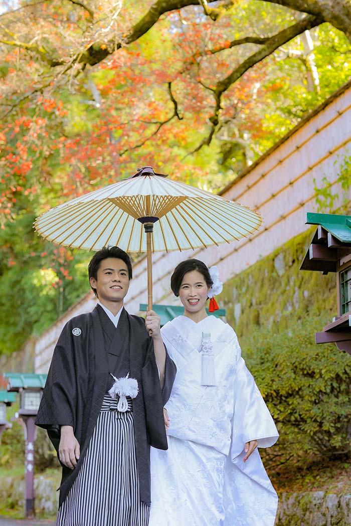 人目を気にせず京都でロケーション撮影