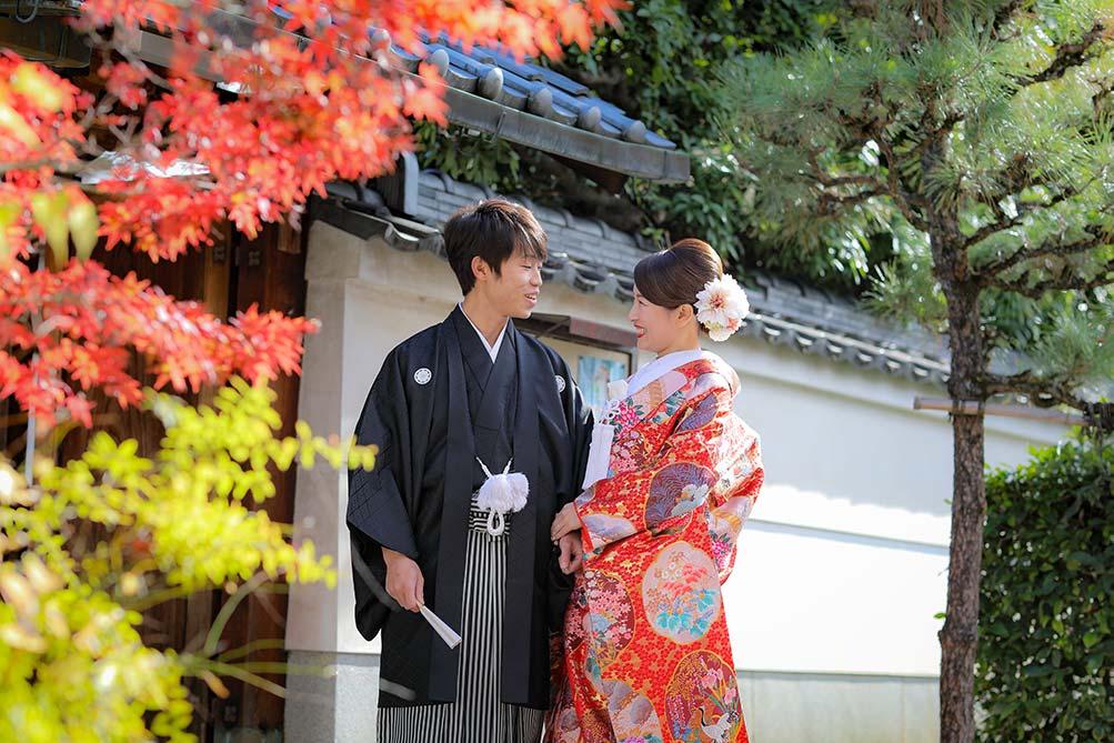 京都の紅葉と前撮り