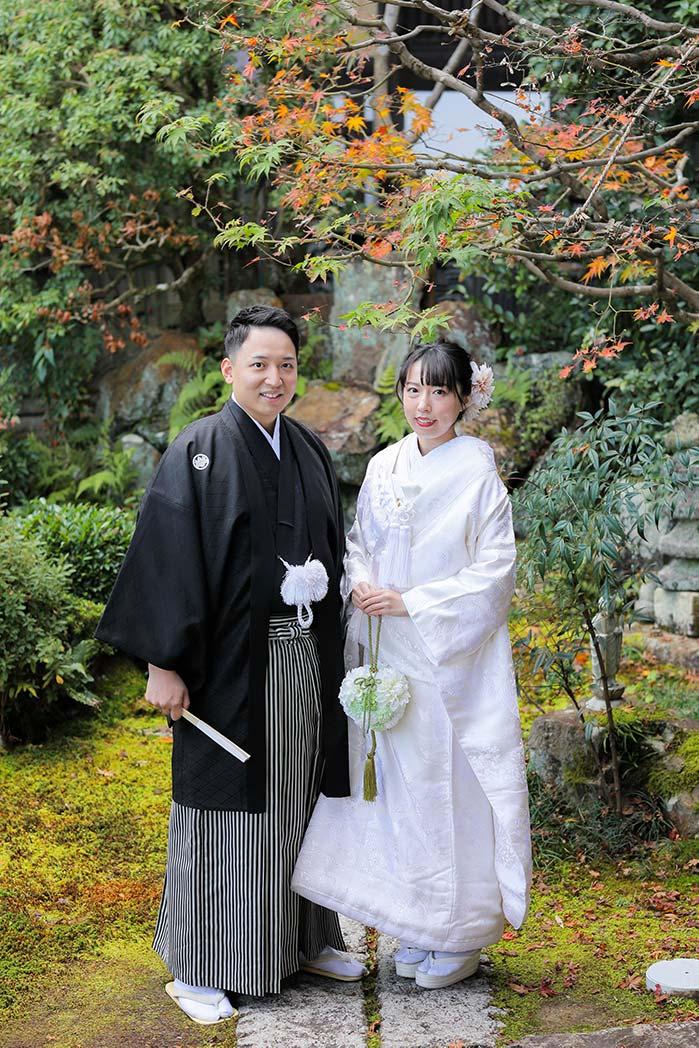シンプルで美しい京都和装フォトウェディング