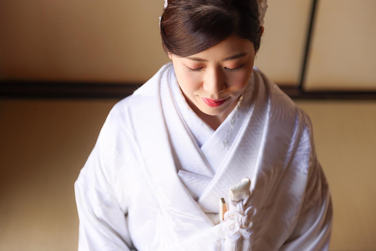 花嫁様のヘアメイクイメージカット