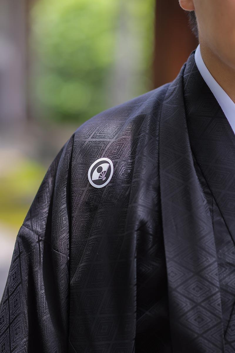 羽織袴の家紋指定