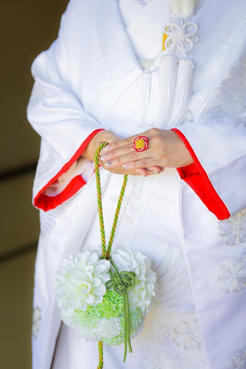 花嫁様手作りの指輪