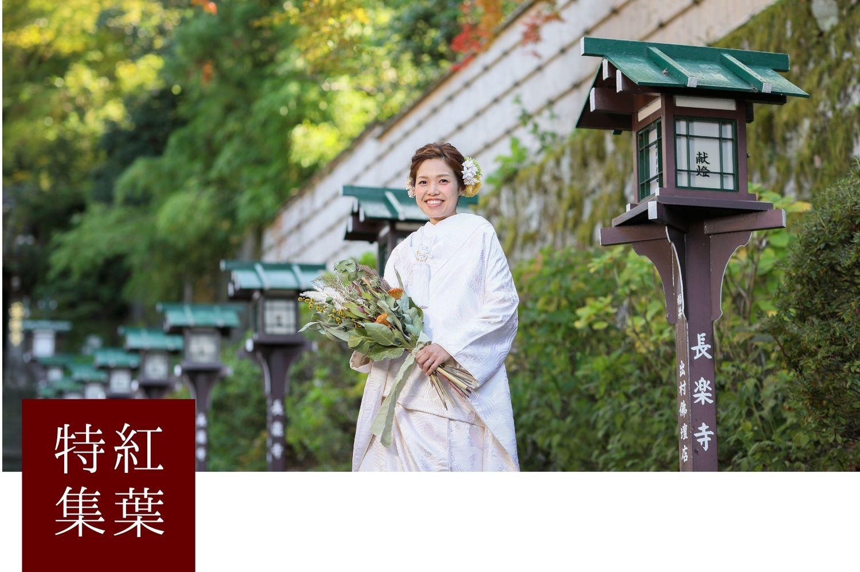京都で前撮り紅葉の時期とおすすめロケーション紹介